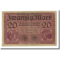 Billet, Allemagne, 20 Mark, 1918-02-20, KM:57, TB - [ 2] 1871-1918 : Empire Allemand
