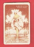 CARTE PARFUMEE 1930 A. BIETTE ET FILS NANTES PARIS LES SAVONS BIETTE FONT LES DELICES DE LA TOILETTE - Perfume Cards