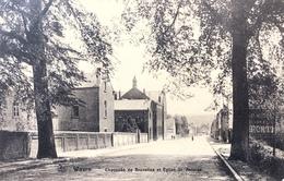 Wavre/Waver-Chaussée De Bruxelles Et Eglise St.Antoine-1920 - Wavre