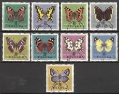 Polen 1797/1805 O Schmetterlinge - 1944-.... Republik