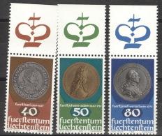Liechtenstein 710/12 Oberrand ** Postfrisch - Liechtenstein