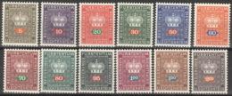 Liechtenstein Dienst 45/56 ** Postfrisch - Dienstpost