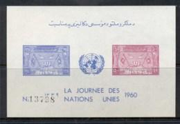 Afghanistan 1960 UN Day MS MUH - Afghanistan
