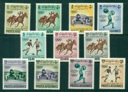 Afghanistan 1962 Asian Games (11)MLH Lot30909 - Afghanistan