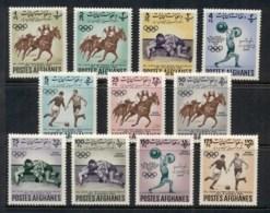 Afghanistan 1962 Asian Games MUH - Afghanistan