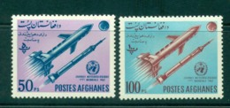 Afghanistan 1962 World Meterological Day MLH Lot30915 - Afghanistan