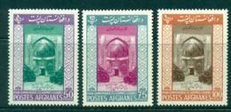 Afghanistan 1963 Ansari Mausoleum Heart MLH Lot30916 - Afghanistan