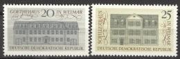 DDR 1329/30 ** Postfrisch - Ungebraucht