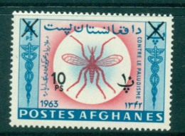 Afghanistan 1964 Anti Malaria 10p On 40 Opt MLH Lot30961 - Afghanistan