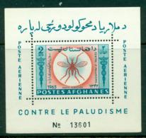 Afghanistan 1964 Malaria 2Af MS MUH Lot16082 - Afghanistan