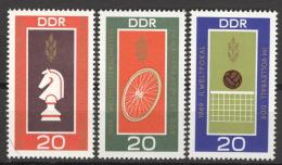 DDR 1491/93 ** Postfrisch - Ungebraucht