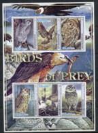 Afghanistan 2001 Birds Of Prey MS CTO - Afghanistan