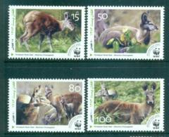 Afghanistan 2004 WWF Himalayan Musk Deer MUH Lot64011 - Afghanistan
