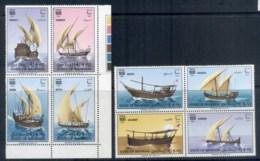 Bahrain 1979 Sailing Ships, Dhows, 2xblk4 MUH - Bahrain (1965-...)