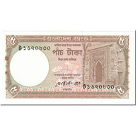 Billet, Bangladesh, 5 Taka, 1988, Undated (1988), KM:25b, TTB - Bangladesh