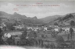 09)   FOUGAX  - Vue Génerale De L' Est Et Le Chateau De Montségur - France
