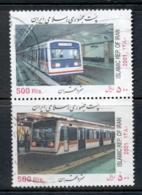 Middle East 2001 Subway Trains FU - Iran