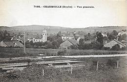 25)   CHARMOILLE  - Vue Générale - France
