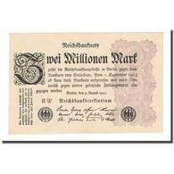 Billet, Allemagne, 2 Millionen Mark, 1923-08-09, KM:104a, SUP - 2 Millionen Mark