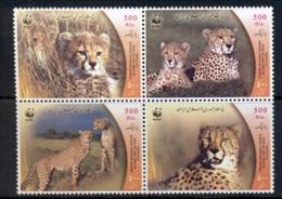 Middle East 2003 WWF Cheetah MUH - Iran