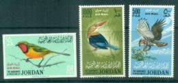 Jordan 1964 Birds + 150f IMPERF MLH - Jordan