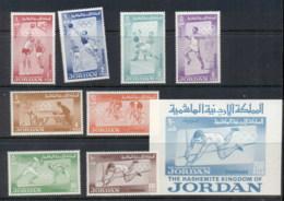 Jordan 1964 Summer Olympics Tokyo + MS MUH - Jordan