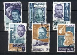 Jordan 1966 Astronauts & Spacecraft From Gemini Missions 6-8 CTO - Jordan