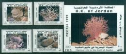 Jordan 1999 Marine Life, Corals + MS MUH - Jordan