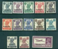 Kuwait 1945 KGVI India Opts MLH/FU Lot73730 - Kuwait