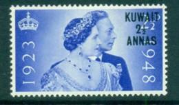 Kuwait 1948 Silver Wedding 2.5a MLH Lot73738 - Kuwait