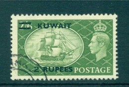 Kuwait 1950-51 2r Ship HV FU Lot73741 - Kuwait