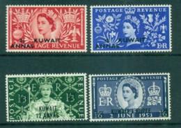 Kuwait 1953 Coronation MLH Lot73742 - Kuwait