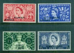 Kuwait 1953 QEII Coronation Opt MLH - Kuwait
