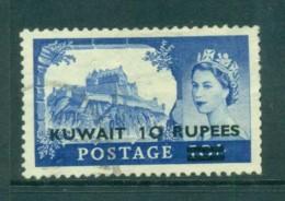 Kuwait 1955 10r On 10/- Castle Lot73744 - Kuwait
