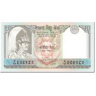 Billet, Népal, 10 Rupees, 1985, Undated (1985), KM:31a, NEUF - Népal