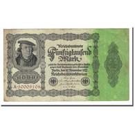 Billet, Allemagne, 50,000 Mark, 1922-11-19, KM:79, TTB - [ 3] 1918-1933 : Repubblica  Di Weimar