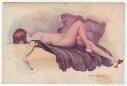 Illustrateur A.Penot // Femme érotique, Froufrou, Modèle D'Atelier, No. 96 - Illustrators & Photographers