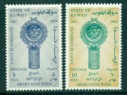 Kuwait 1967 Publicity Week MLH Lot73802 - Kuwait