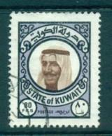 Kuwait 1977 Sheik Sabah 80f FU Lot73868 - Kuwait