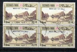 Oman 1972 View Of Muscat 1/2r Blk4 FU - Oman