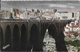 Constantine (Algérie) - La Ville Et Le Pont Sidi-Rached - Edition Jomone - Constantine