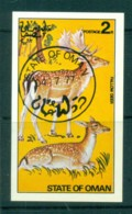 Oman 1977 Fallow Deer MS CTO - Oman