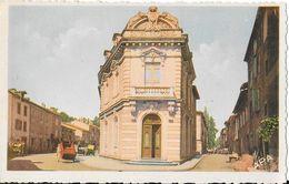 Réalmont (Tarn) - La Caisse D'Epargne - Carte A.P.A. Poux Colorisée, Non Circulée - Banks