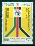 Oman 1982 Plenipotentary Conf, Nairobi MUH - Oman
