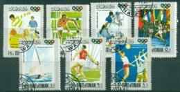 Oman State Of 1968 Mexico Olympics CTO - Oman