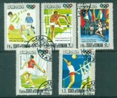 Oman State Of 1968 Olympics CTO - Oman