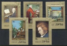 Oman State Of 1973 Mozart CTO - Oman