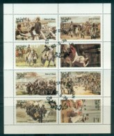 Oman State Of 1974 Napoleon Sheetlet CTO Lot81766 - Oman