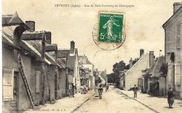 LEVROUX -rue Du Petit Faubourg De Champagne -ed. Libre. 65- Cl. J.A. - France