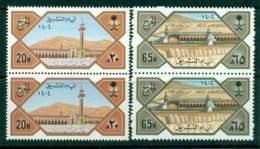 Saudi Arabia 1984 Pilgrimage To Mecca Pair MUH Lot26740 - Saudi Arabia